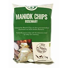 Bio Maniok Chips Rosemary