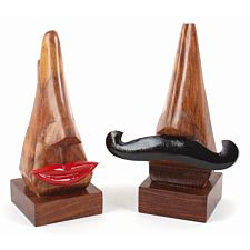 "Brillenhalter ""Mr. und Ms. Nose"", 2er-Set"