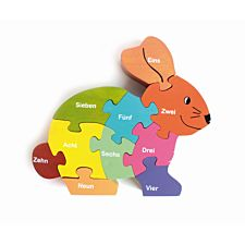 "Puzzle ""Hase"""